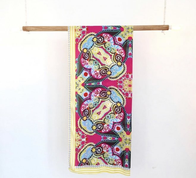 Sarong Brescia Bercane with a lot of colors